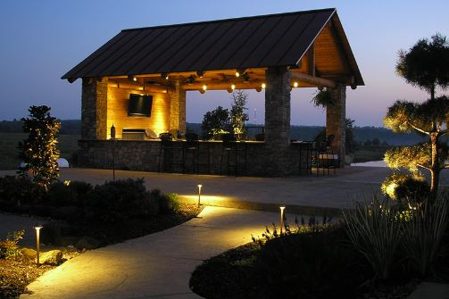 Outdoor Lighting Design In Greenwood